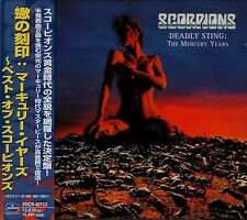 SCORPIONS Deadly Sting - The Mercury Years RARE JAPAN 2 CD OBI PHCR-4071/2