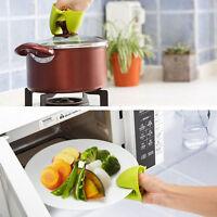 Mini-Küchengeschirr-Ofen-wärmeisolierter Finger-Schutz-Handschuh, Mitt-Hal M4W