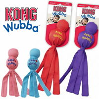 KONG Wubba Puppy Dog Toss & Tug Toy Squeaky Teething Puppy /S/L/XL - Colors Vary