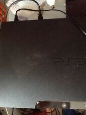 Sony Playstation 3 PS3 Slim 320Gb Console Plus Power & HDMI Leads TESTED WORKING