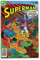 Superman 318 DC 1977 FN VF Dogs Pirate Rich Buckler Curt Swan Penguin Hostess Ad