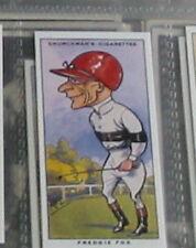 #39 Freddie fox horse racing  - Sports card r