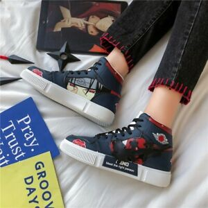Anime Naruto Sneakers Shoes Pain Six Cosplay Men Women Casual Shoes Breathable