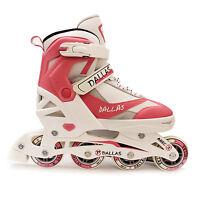 California Pro Dallas Inline Junior Girls Pink Roller Skates Adjustable