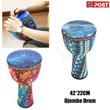 More details for 8.5 inch african drum djembe drum for kids adults beginners 42cm x 22cm