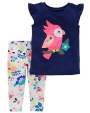 Completi multicolore con maniche corte per bambina da 0 a 24 mesi