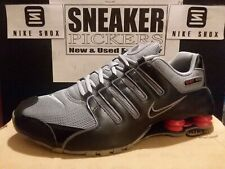 finest selection 79f2b dfdea Nike Shox NZ - Black   Stealth - Sport Red - 378341 039 - Mens Size