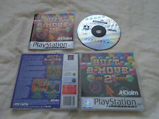 Bust a Move 2 PS1 (COMPLETE) platinum Sony PlayStation arcade