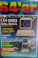 64er (64´er) 05/88 Mai 1988 C64 Commodore (Giana Sisters Test)