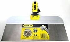 """Stanley STHT0-05776 12"""" Stainless Steel Taping Knife with Bi-Material Handle"""