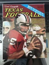 1971 Dave Campbell's Texas Football Magazine Excellent Condition