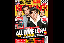 KERRANG Magazine ALL TIME LOW GREEN DAY CJ McMAHON WATERPARKS SUM 41 Sløtface