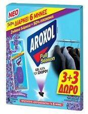 Anti Moth Lavender Fragrance Aroxol 3+3-Pack Gel Tablets/sachet Last 6 month