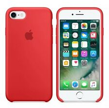 "RED GENUINE ORIGINAL Apple silicon case for iPhone 8/ iPhone 7   4.7"""