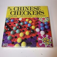 Vintage 1989 Golden Chinese Checkers Board Game Factory Sealed