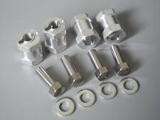 4x 17mm Wheel Spacer Widener 12Hex 1/10 Tamiya Axial Kyosho RC4WD F350 CR01 CC01