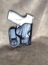 S&W M&P Shield 9/40 IWB Leather Holster by ETW Holsters...Hickory, NC