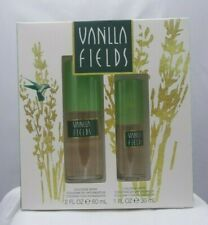 VANILLA FIELDS COLOGNE GIFT SET - 2.0 OZ & 1.0 OZ. - FRESH-JUST MADE-NEW IN BOX