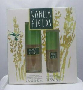 VANILLA FIELDS COLOGNE GIFT SET - 2.0 OZ & 1.0 OZ. - NEW IN BOX