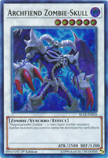 3x Archfiend Zombie-Skull - BLLR-EN058 - Ultra Rare - 1st Edition YuGiOh NM BLLR