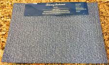 Tommy Bahama Blue Denim Indoor/Outdoor Water Repellent Placemats Set of 4