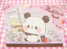 KAMIO JAPAN / Mochi Mochi Panda Cafe Large Memo Pad / Japanese Stationery
