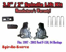 "1997 - 2003 Ford F-150 F150 2WD 3.5"" / 2""  inch Spindles blocks LIFT KIT"
