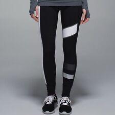 Lululemon Size 10 Speed Tight II SE Reflective Pants NEW