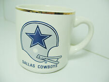 Dallas Cowboys 1980 Record Ceramic Mug Coffee Tea NFL 12 oz Football