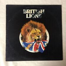 "British Lions s/t [vinyl - 12""] 1978 RSO RS-1-3032"