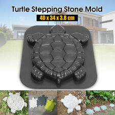 Turtle Stepping Stone Mold Cement Tortoise Garden Path Anti Slip Step Pads Mould