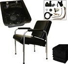 Ceramic Shampoo Bowl Sink Auto Reclining Chair Barber Beauty Salon Equipment