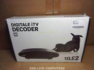TELE2 A132 A132-5003 Digital HD iTV Decoder - NEW NEU NIEUW IN BOX