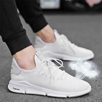 Men's Breathable Sports Shoes Casual Mesh Athletic Sneakers Running Leisure Soft