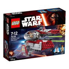 LEGO Star Wars Obi Wan's Jedi Interceptor 75135 NEW Sealed Box FREE Signed P & P