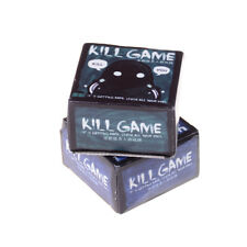 Mini Party Game KILL GAME Board Game Party Cards for family friend party game JH
