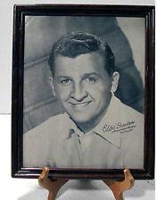 Vintage Framed EDDIE BRACKEN Actor 8x10 Photo