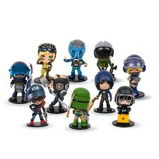 New Ubisoft Rainbow Six Siege Chibi SERIES 1 Collectible FIGURES 4-PACK
