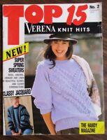 TOP 13 VERENA KNIT HITS No.2 February 1989 magazine