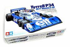 TAMIYA 1/20 CARS TYRRELL P34 MONACO 1977 racing car model kit