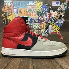 Nike Air Force 1 High 07 LV8 806403-007 Red/Gray Men's Size 13