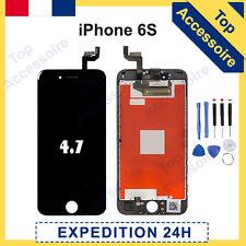 ECRAN IPHONE 6S NOIR VITRE TACTILE + LCD ORIGINAL RETINA SUR CHASSIS + OUTILS
