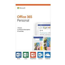 Microsoft Office 365 2019 Personal Subscription 1 User PC/Max - 1 Year QQ2-00728