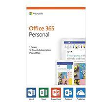 Microsoft Office 365 2019 personal suscripción 1 usuario PC/Max - 1 año de QQ2-00728