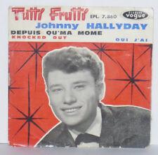 JOHNNY HALLYDAY Tutti Frutti VINYLE EP 45 Tours EPL 7860 France 1961