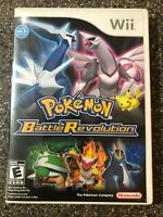 Pokemon Battle Revolution (Nintendo Wii) Complete w/ Manual - Clean & Tested