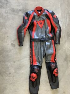 Dainese leather 2 Piece Race suit