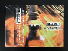 Final Fantasy Ix Visual Art Collection Square Art Book