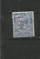 Perfins Perfin Großbritannien England King George V Old Stamps Briefmarken