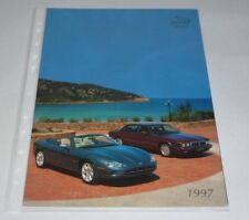 Jaguar XJ6/Sovereign/XJ Sport /XJ-R/Daimler Six/Double Six/XK8 Brochure (1997)